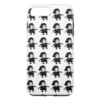 Mädchen Illystration Iphone Abdeckung iPhone 8 Plus/7 Plus Hülle