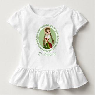 Mädchen im Dirndl Kleinkind T-shirt