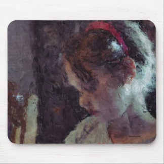 Mädchen - Impressionist-Kunst durch Johannes Mousepads