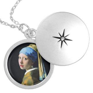 Mädchen Jan.s Vermeer mit einer Medaillon