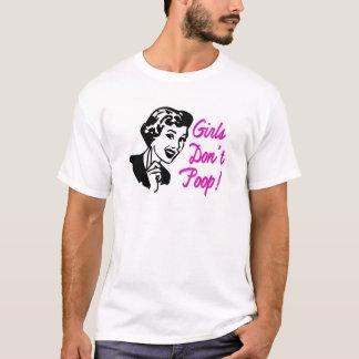 Mädchen kacken nicht rosa T - Shirt - S M L XL 1X