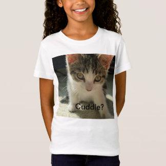 Mädchen Kätzchen-T - Shirt