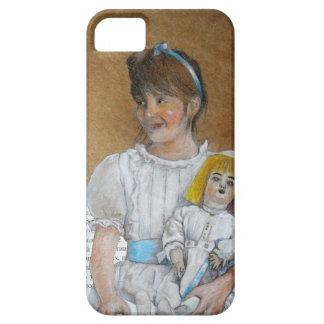 mädchen mit der rück Puppe iPhone 5 Case