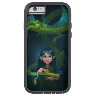 Mädchen mit Drachen Tough Xtreme iPhone 6 Hülle