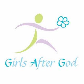 Mädchen nach Gott Keychain #2 Foto Ausschnitte