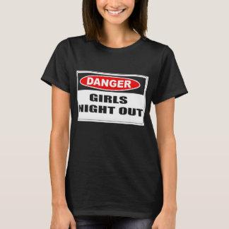 Mädchen-Nacht heraus T-Shirt
