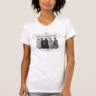 """""""Mädchen-Nachtheraus"""" Vintager inspirierter T-Shirt"""