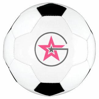 Mädchen-Power-Fußball-Ball Fußball