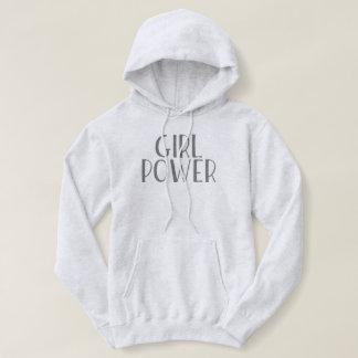 Mädchen-Power Hoodie