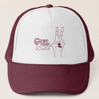 Mädchen-Power-Hut Truckerkappe