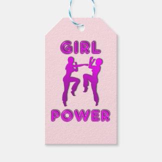 Mädchen-Power-Kriegskünste, die Geschenkanhänger