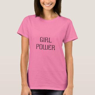 Mädchen-Power T-Shirt