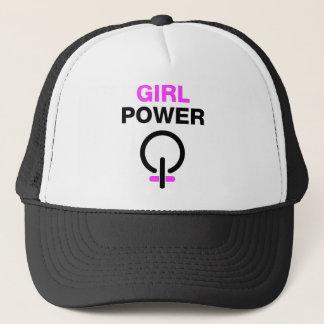 Mädchen-Power Truckerkappe