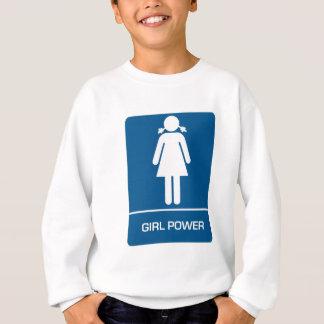 Mädchen-Powerrestroom-Tür Sweatshirt