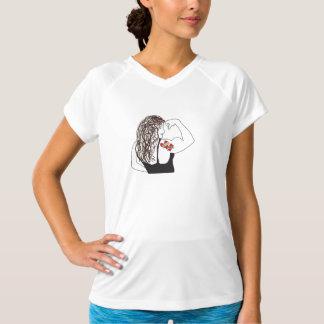 Mädchen-Powerworkout-Shirt T-Shirt