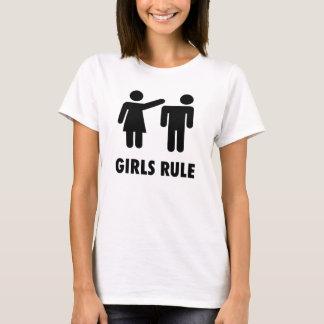 Mädchen-Regel T-Shirt
