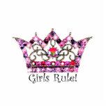 Mädchen-Regel! Tiaraskulptur