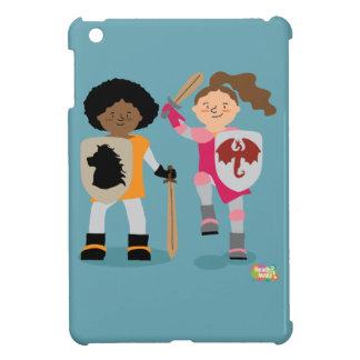 Mädchen-Ritter heraus iPad Mini Hülle