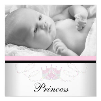 Mädchen-rosa schwarze Prinzessin Birth