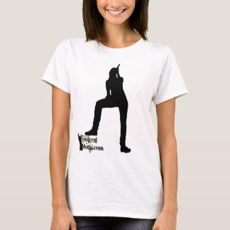 Mädchen-Sänger-Trägershirt T-Shirt