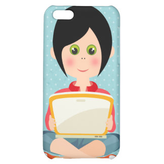 Mädchen-Speck-Kasten iPhone 5C Hülle