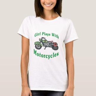 Mädchen-Spiele mit Motorrädern T-Shirt