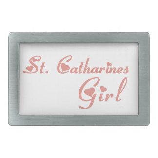 Mädchen St. Catharines Rechteckige Gürtelschnallen
