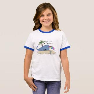 Mädchen-Strand-Gammler-T - Shirt