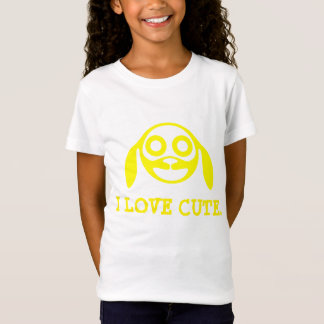 """Mädchen-T - Shirt """"ICH LIEBE NIEDLICH""""."""