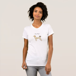 Mädchen-T-Shirt verfolgt Gewohnheit T-Shirt