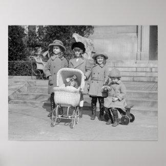Mädchen-Tag heraus, 1922 Poster