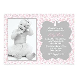Mädchen-Taufe-Einladungen 12,7 X 17,8 Cm Einladungskarte