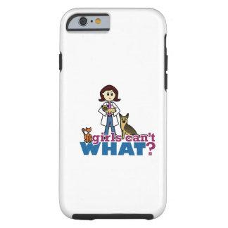Mädchen-Tierarzt Tough iPhone 6 Hülle