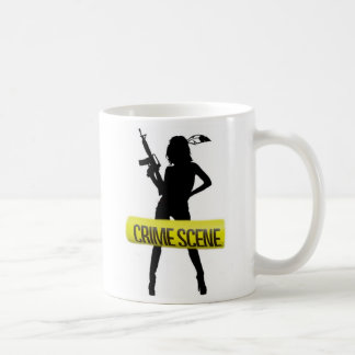 """Mädchen u. Gewehr, """"mein Ex-Mann oncehad ein ex… Kaffeetasse"""