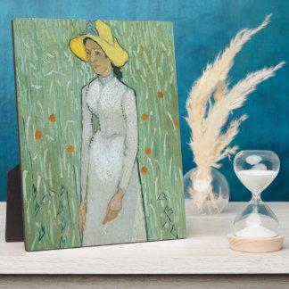 Mädchen Vincent van Goghs | in Weiß, 1890 Fotoplatte