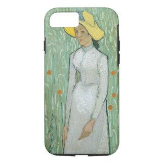 Mädchen Vincent van Goghs | in Weiß, 1890 iPhone 8/7 Hülle
