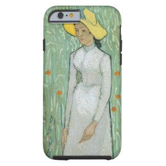 Mädchen Vincent van Goghs | in Weiß, 1890 Tough iPhone 6 Hülle