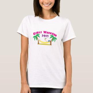 Mädchen-Wochenenden-Shirt 2013 T-Shirt
