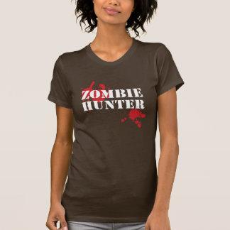 Mädchen-Zombie-Jäger-T - Shirt - machen Sie Romero
