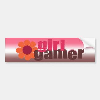 MädchenGamer Auto Aufkleber