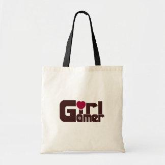 MädchenGamer Budget Stoffbeutel