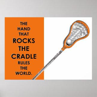 MädchenLacrosse Poster