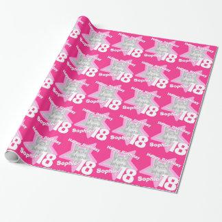 Mädchennamensalter 18 addiert Ihre Einpackpapier