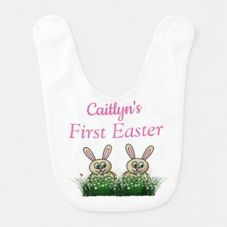 (Mädchens) erstes Ostern Lätzchen