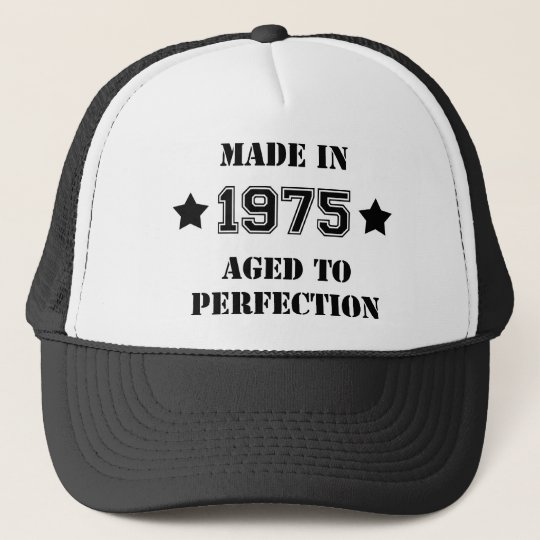 Made in 1975 - Aged to perfection Truckerkappe