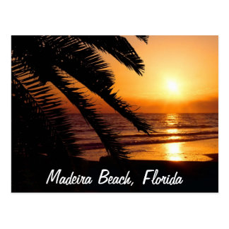 Madeira-Strand Florida Postkarte