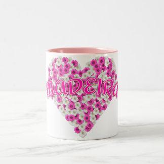MADEIRA-Tasse - wählen Sie Art u. Farbe Zweifarbige Tasse