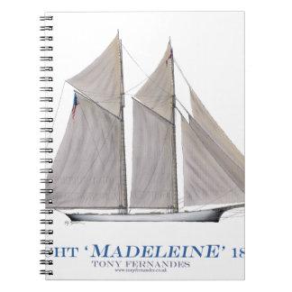 Madeleine 1876 notizblock