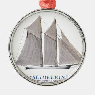 Madeleine 1876 silbernes ornament