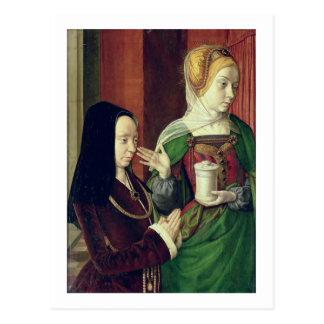 Madeleine vom Burgund stellte sich durch St Mary M Postkarten